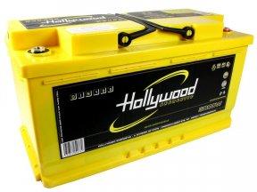 Hollywood DIN-100 - akumulator DIN AGM - 100Ah