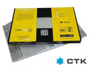 CTK Standard 2.5 Pack - mata tłumiąca, 12szt./4,2m2