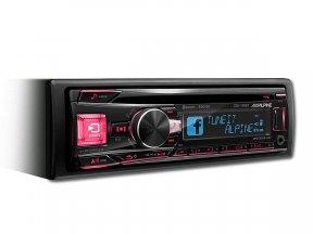 Alpine CDE-195BT - radioodtwarzacz samochodowy