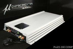 u-Dimension ProZ 2-200 - wzmacniacz samochodowy