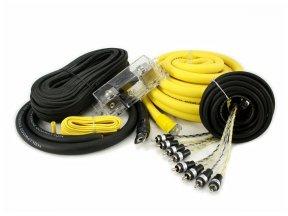 Hollywood PRO-40 - zestaw kabli OFC do wzmacniacza