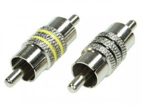 Hollywood RCA-ML - łączniki kabli RCA, typ męski