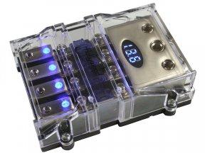 Hollywood MAHX-4B - oprawa bezpieczników 4xMANL
