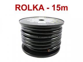 Hollywood CCA PC-B0 - kabel zasilaj. 53 mm2 /15m