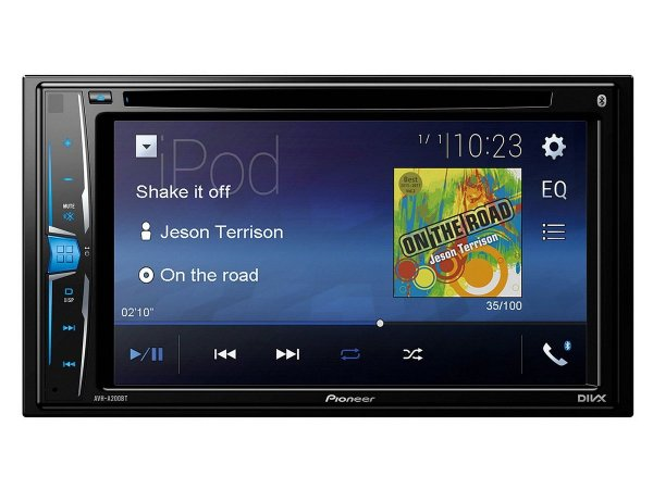 Pioneer AVH-A200BT - stacja multimedialna z DVD