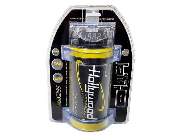 Hollywood HCM-1 HDTF - kondensator 1F, woltomierz