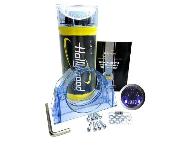 Hollywood HCM-2 HDTF - kondensator 2F, woltomierz