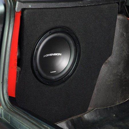 VW Golf 3 - obudowa subwoofera