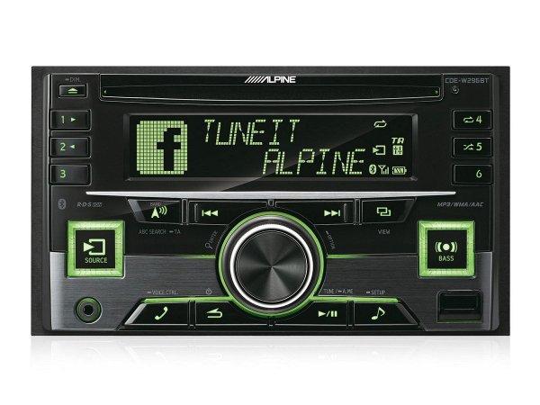 Alpine CDE-W296BT - radioodtwarzacz samochodowy