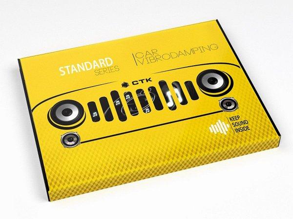 CTK Standard 1.8 Pack - mata tłumiąca, 16szt./3m2