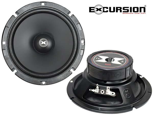 Excursion SX-6M - głośniki średnio-niskotonowe