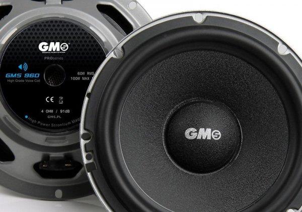 GMS-960 - głośniki samochodowe