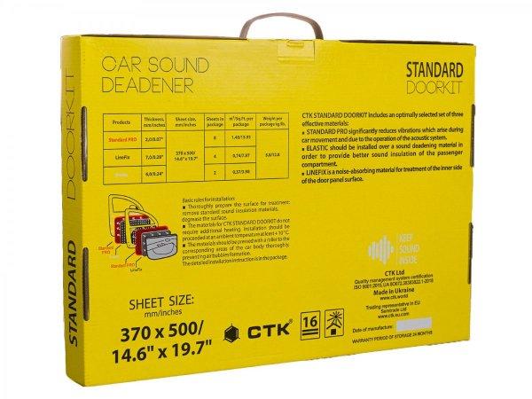 CTK Standard DOORKIT - zestaw do wygłuszenia drzwi
