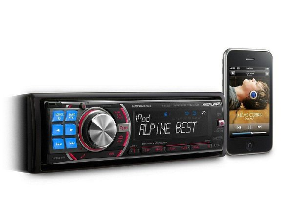 Alpine CDA-105Ri - radioodtwarzacz