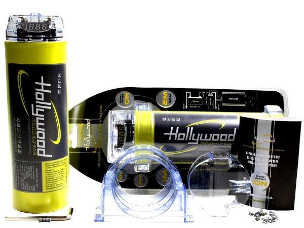 Hollywood HCM-2 - kondensator 2F z woltomierzem
