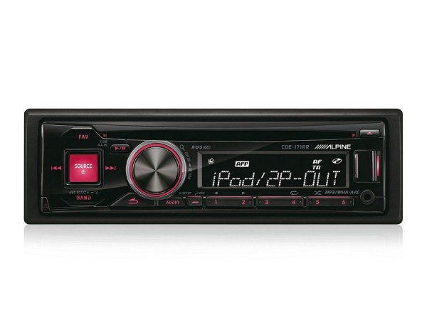 Alpine CDE-171RR - radioodtwarzacz