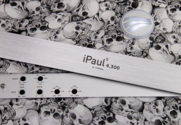 Rainbow iPaul 4.300 Skull Edition - wzmacniacz sam.