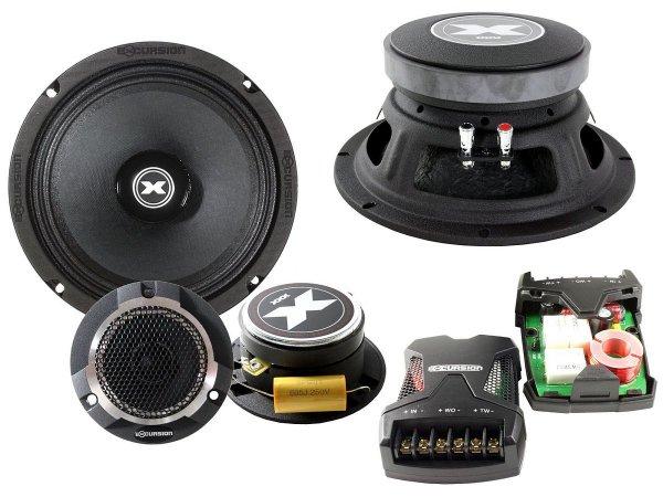 Excursion XXX-8C - zestaw głośników SPL 98/200mm