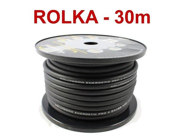 Hollywood PRO PC-BK4 - kabel zasilaj. 21 mm2 /30m