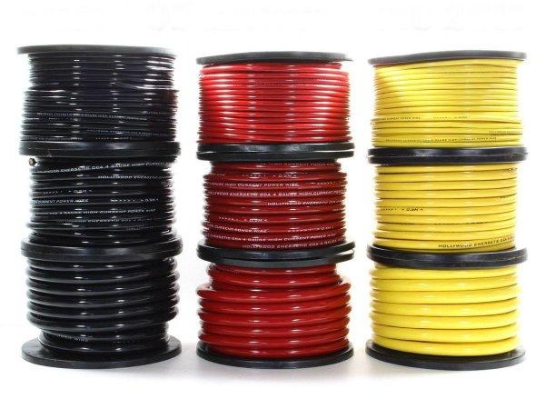 Hollywood CCA PC-B8 - kabel zasilający 8,5 mm2