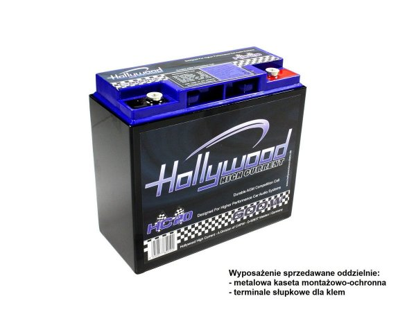 Hollywood HC-20 - akumulator 12V
