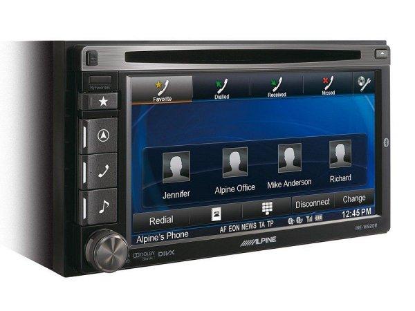 Alpine INE-W920R - stacja multimedialna