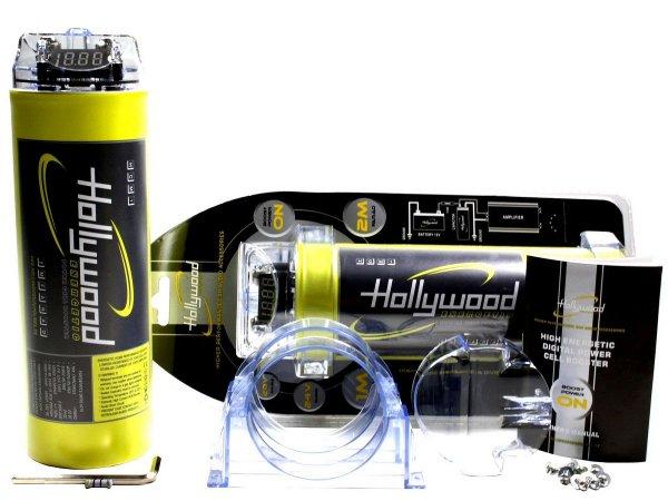 Hollywood HCM-1 - kondensator 1F z woltomierzem