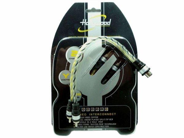 Hollywood PRO-21M - rozdzielacz kabli RCA-Y