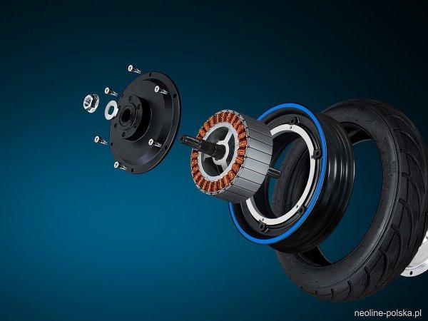 Neoline T24 - hulajnoga elektryczna 350W 7.5Ah 25km