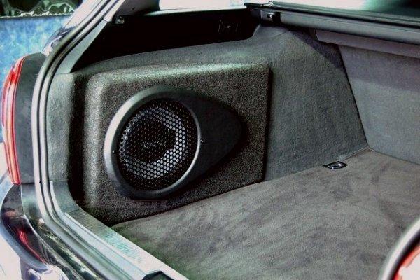 Audi A4 B5 Avant - obudowa subwoofera