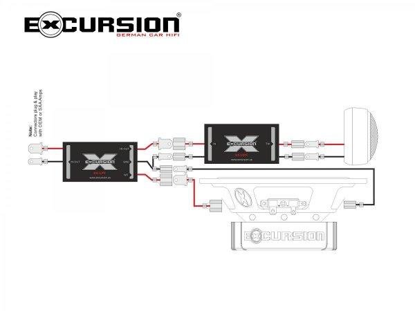 Excursion SX-6C - 2-drożny zestaw głośników