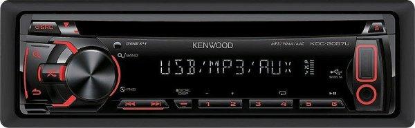 Kenwood KDC-3057UR - radioodtwarzacz