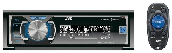 Radio JVC KD-R90BT - radioodtwarzacz