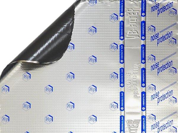Vibrofiltr 2.0 mm - mata wygłuszająca 35x50cm, 1szt.