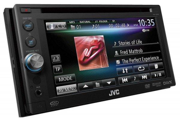 JVC KW-AV50 - stacja multimedialna