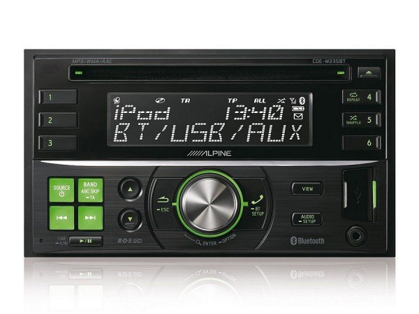 Alpine CDE-W235BT - radioodtwarzacz