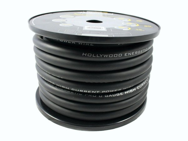 Hollywood PRO PC-BK0 - kabel zasilający 53 mm2