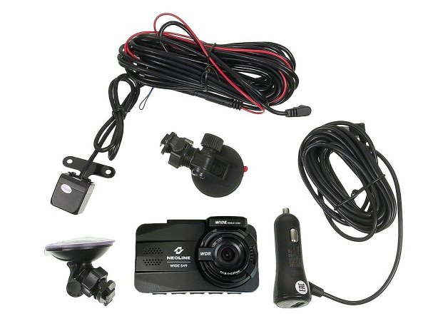 Neoline Wide S49 Dual - wideorejestrator, 2 kamery