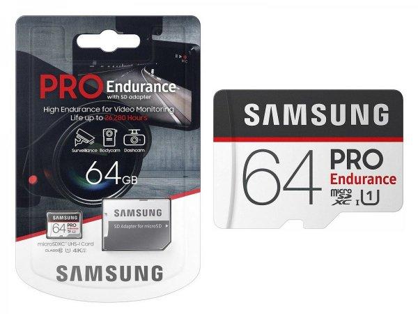 Karta pamięci microSD Samsung PRO Endurance 64GB