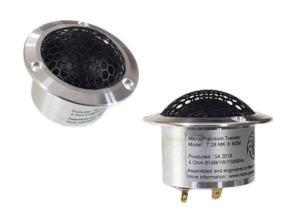 Micro-Precision 7.28 MKIII - głośniki wysokotonowe