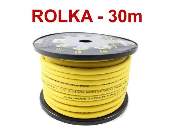 Hollywood PRO PC-YL4 - kabel zasilaj. 21 mm2 /30m