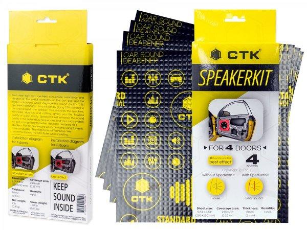 CTK Standard SpeakerKit - do tłumienia blach drzwi
