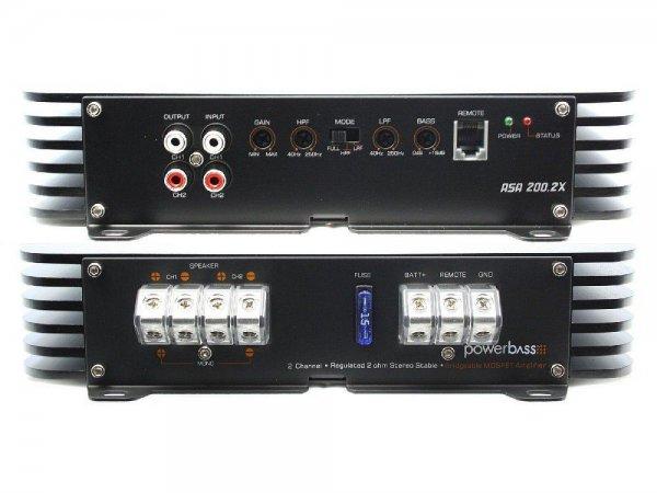 Powerbass ASA-200.2x - wzmacniacz samochodowy