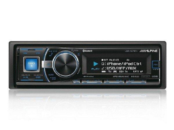 Alpine CDA-137BTi - radioodtwarzacz