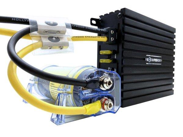 Hollywood HCM-6 HDFT - kondensator 6F, woltomierz