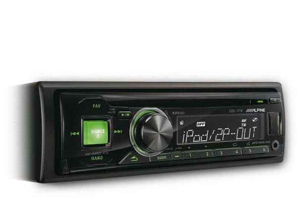 Alpine CDE-171R - radioodtwarzacz