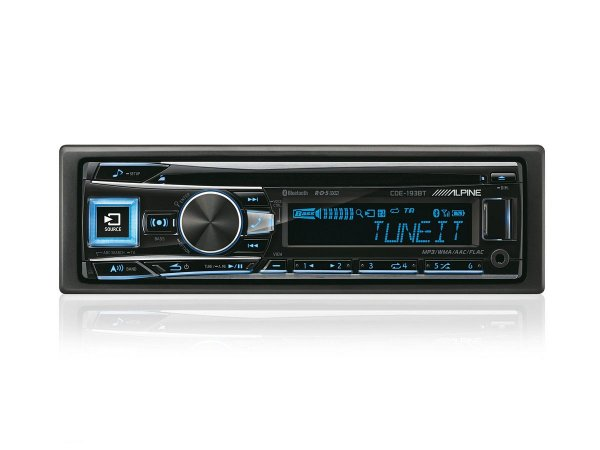 Alpine CDE-193BT - radioodtwarzacz samochodowy