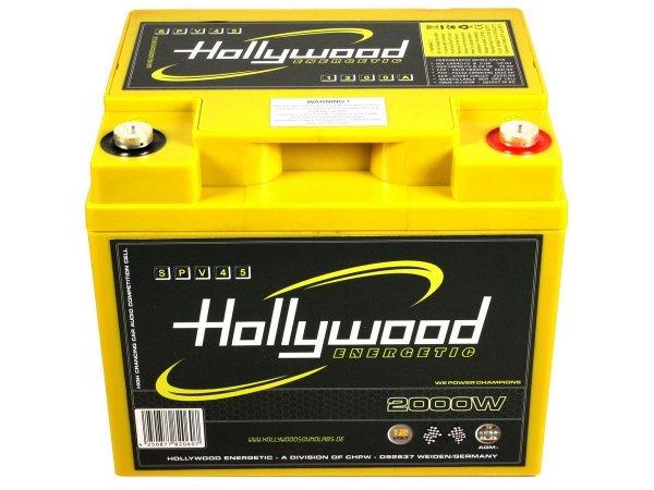 Hollywood SPV-45 - akumulator AGM - 45Ah