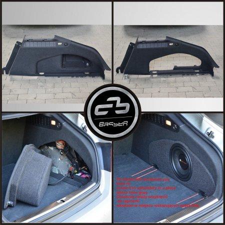 Audi A7 - obudowa subwoofera