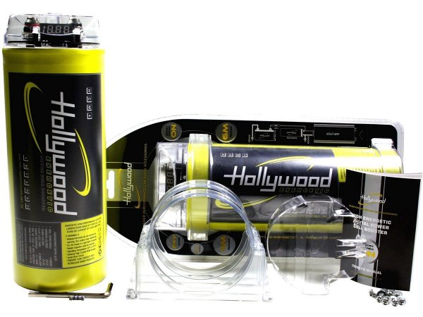 Hollywood HCM-4 - kondensator 4F z woltomierzem